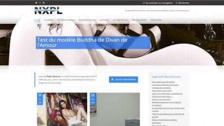 Test du modèle Buddha de Divan de l'Amour